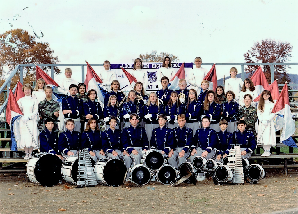 Lock Haven High School Marching Band, Fall 1994